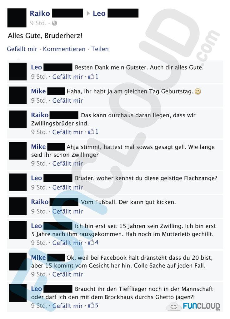 Facebook Fail des Tages