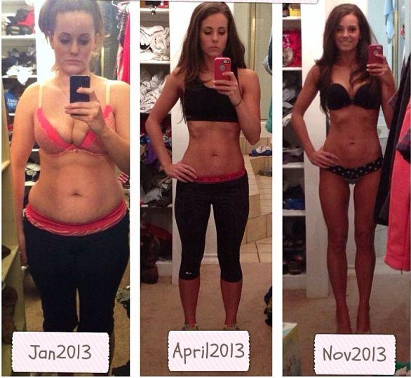 1年経たずにこの変化!ダイエットのビフォーアフターです。