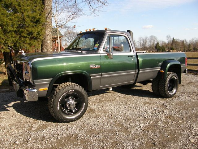 single cab dodge dually - Buscar con Google