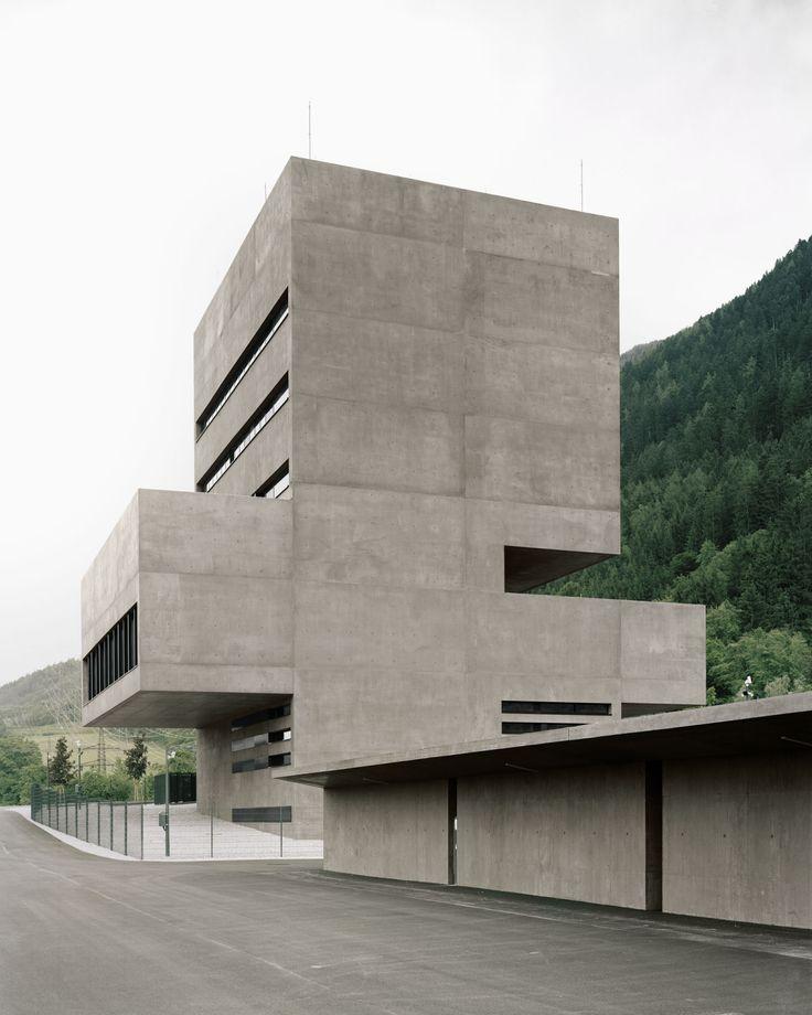 Bechter Zaffignani Architekten - KWB-Leitstelle, Tiwag