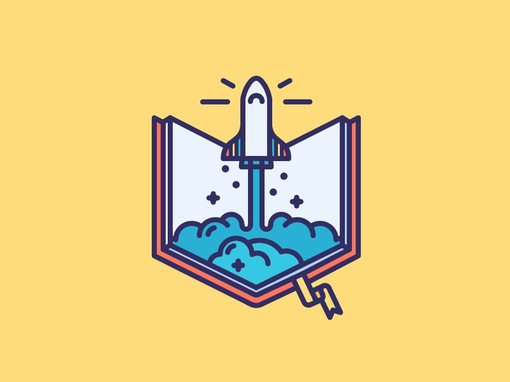 Book Rocket!  by Justas Galaburda #Design Popular #Dribbble #shots