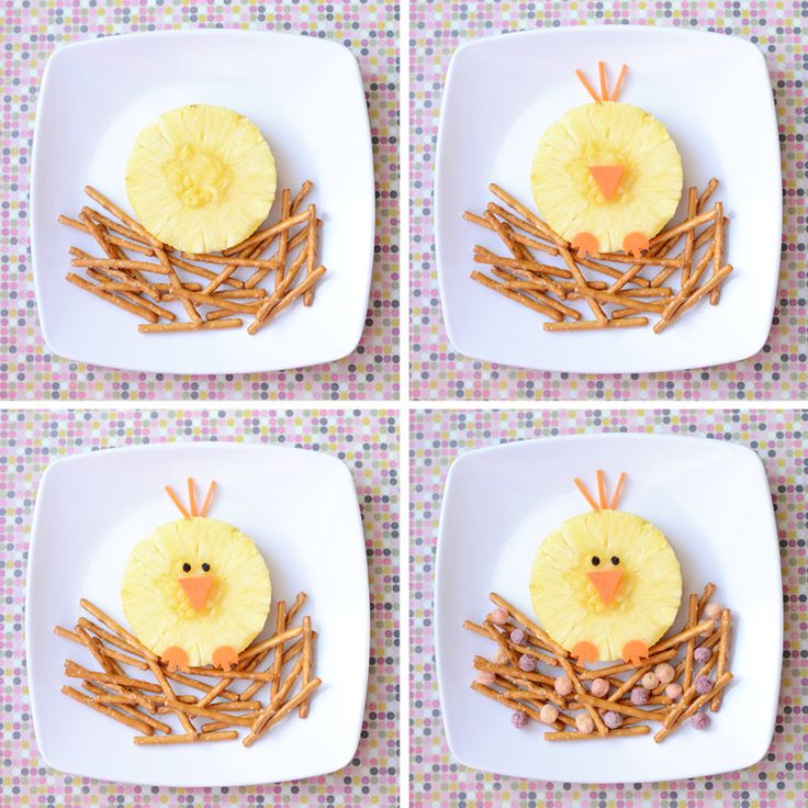 """Spring Bird Snack for School (Easy """"How-To"""" Steps to Follow)"""