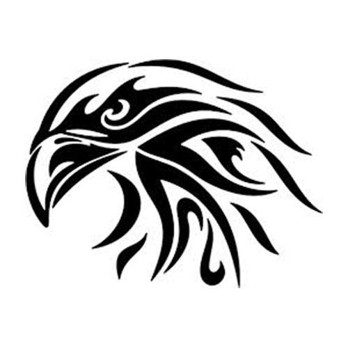 Eagle Die Cut Vinyl Decal PV1122