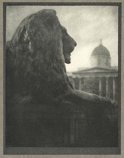 The British Lion by Alvin Langdon Coburn London, 1910