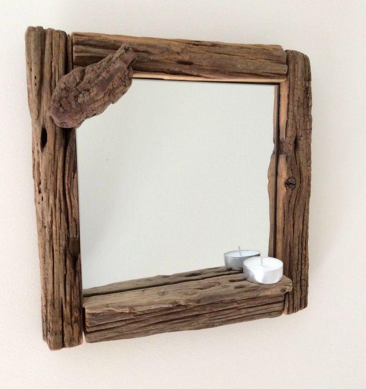 Les 25 meilleures id es de la cat gorie miroir en bois for Encadrement de miroir en bois