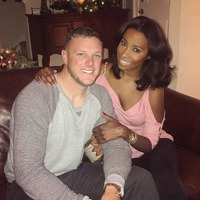 Stunningly beautiful interracial couple #love #wmbw #bwwm #swirl…