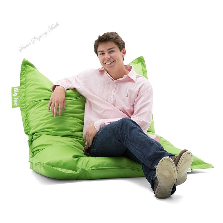 Large Bean Bag Chair For Kids and Adults Lightweight Bean Bags Relax Chairs  #BigJoeLargeBeanBagChair