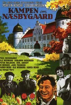 Kampen om Næsbygård (1964) godsejerens datter stikker af med en artist. Mange år efter omkommer de i en flyveulykke, men ikke deres søn.