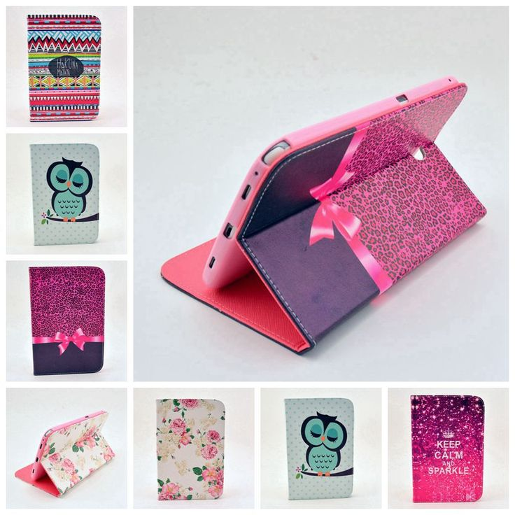 For samsung galaxy Tab 2 10.1 Case New Colored Drawing Picture Leather Flip Skin Cover for Samsung Tab2 10.1 P5100 Stand Bags