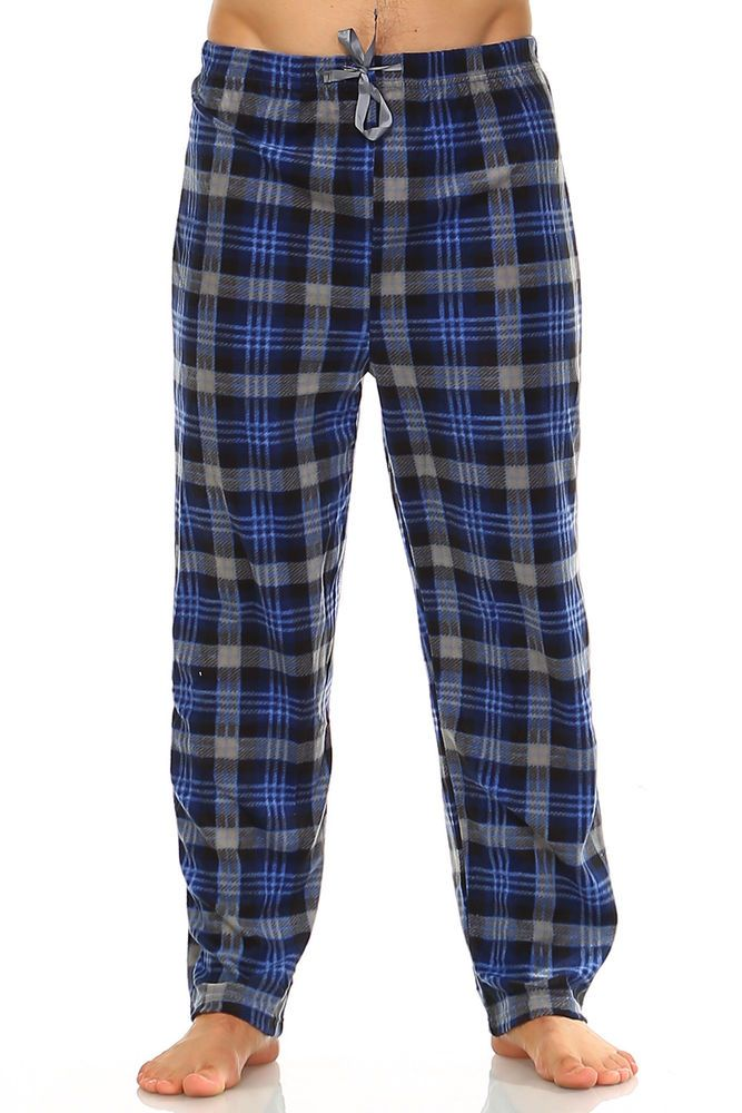 fashion New Mens Flannel Fleece Pajama Pant Lounge Pants 5fd886149