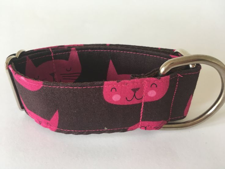 Collar perro Gatos rosas, Collar martingale, Collar galgo, Martingale dog collar, Collares para perros, Correa perro, Rosa, Gatos, Spain de 4GUAUS en Etsy