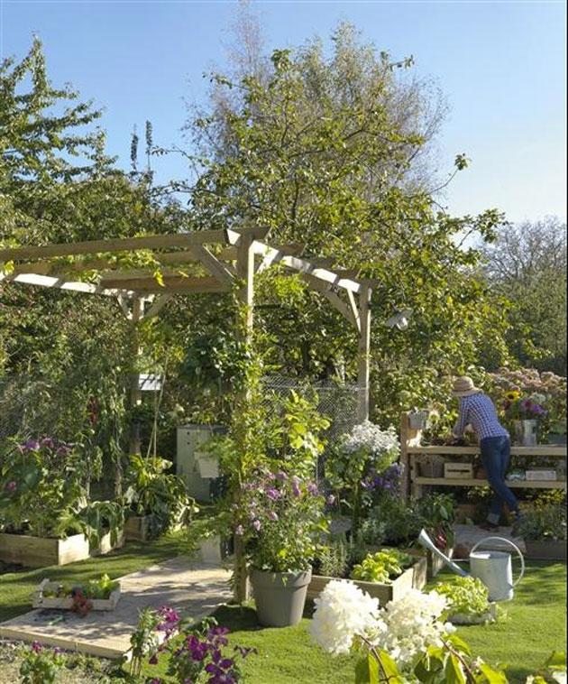 17 meilleures images propos de ext rieur outdoor sur pinterest jardins terrasse et planters - Terrasse et jardin leroy merlin dijon ...