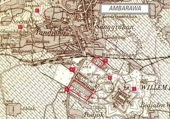 Ambarawa Region Map, Jacques was in Ambarawa 7 for men