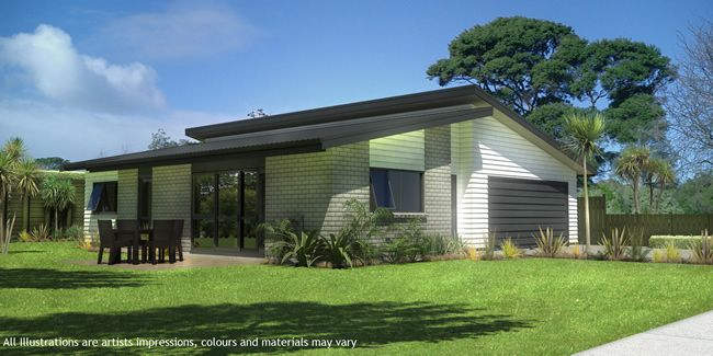 Mono pitch homes nz google search monopitch for Mono pitch house plans