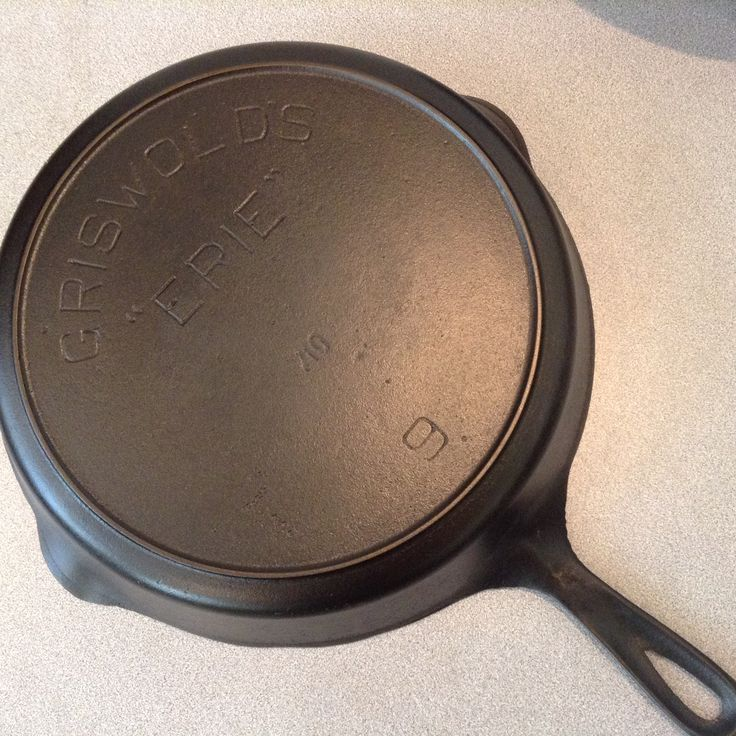 Griswold Erie C 1905 1906 Shown 9 Known Sizes 5 12