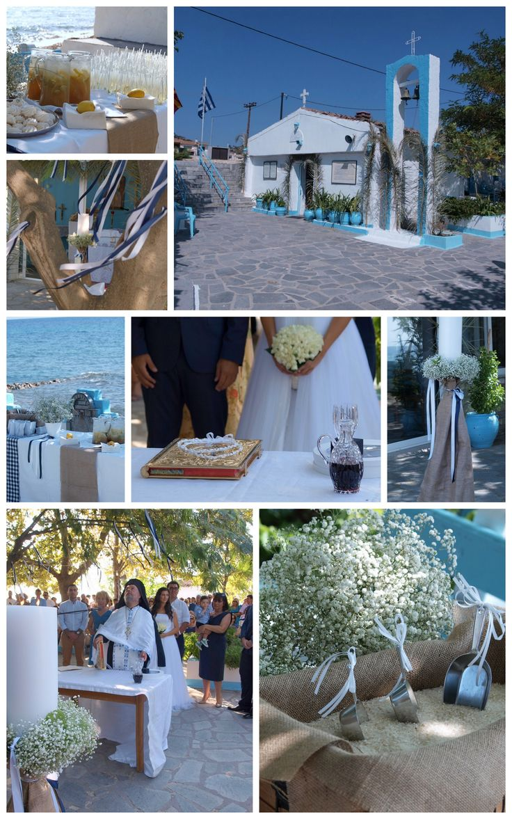 Wedding and Christening in Chalkidiki Greece.