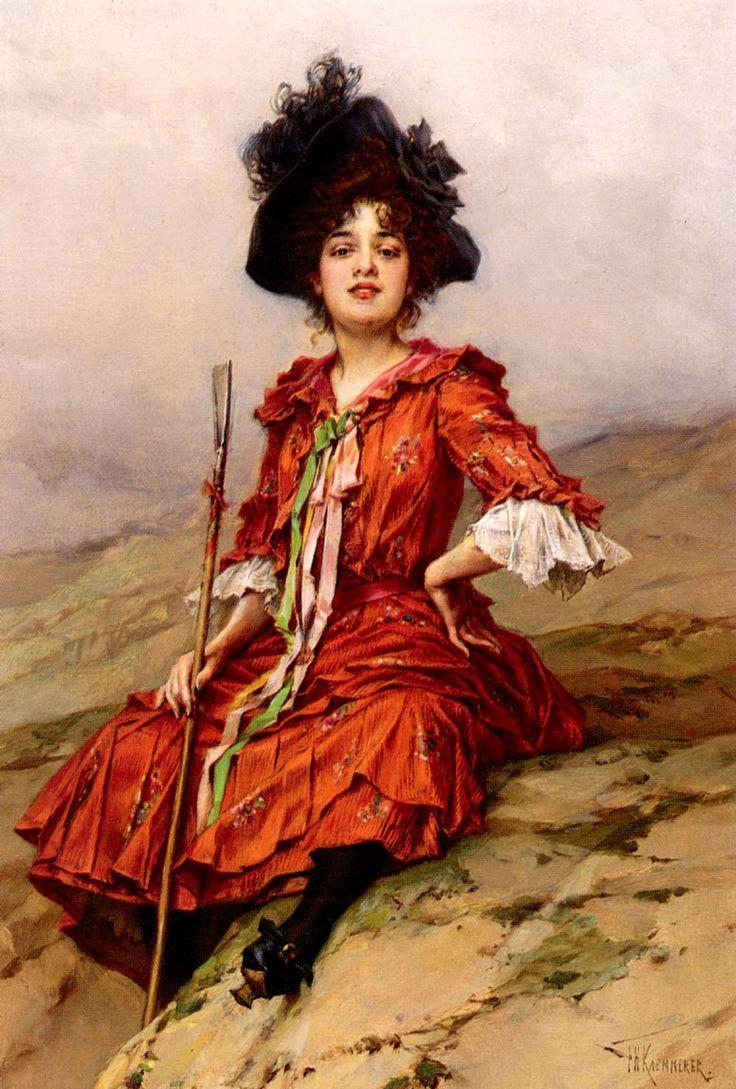 by Frederick Hendrik Kaemmerer (Dutch 1839-1902)