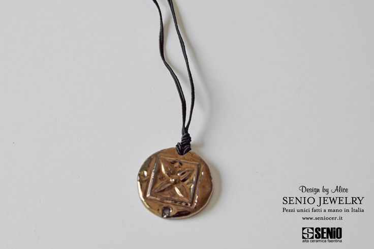Ceramica Senio Jewelry handmade design by Alice  MADE IN ITALY #AliceFagnocchi #handmade #ceramic #art #sculpture