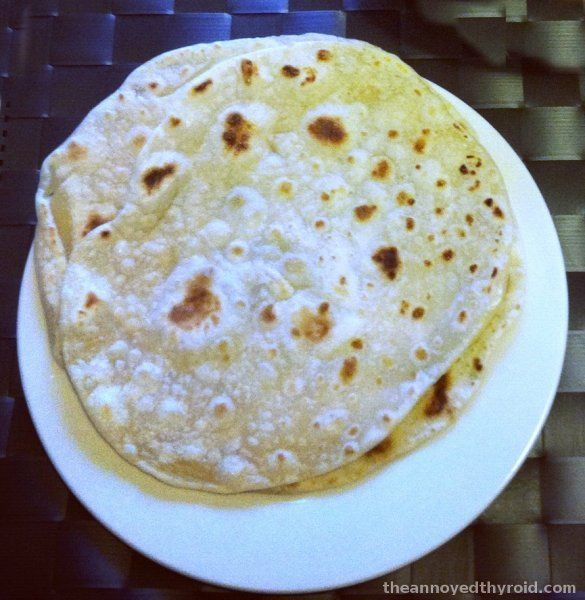Thermomix Indian Flat Bread (Roti)