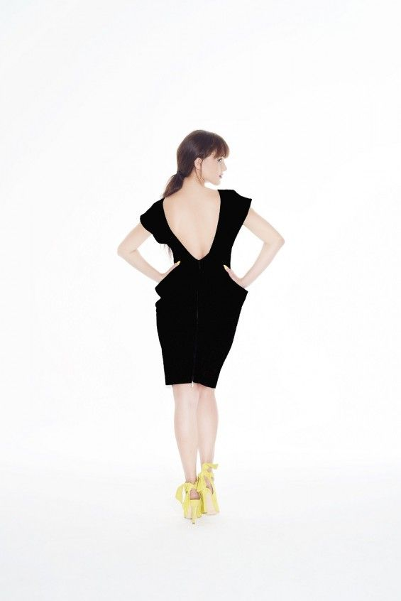 Sukienka TRIO czarna