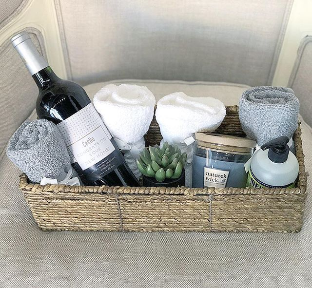I love making closing gift baskets for my clients. I think its a nice touch and ...