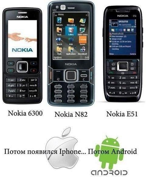 Истoрия Nokia. Читаем, вспоминаем, плачем