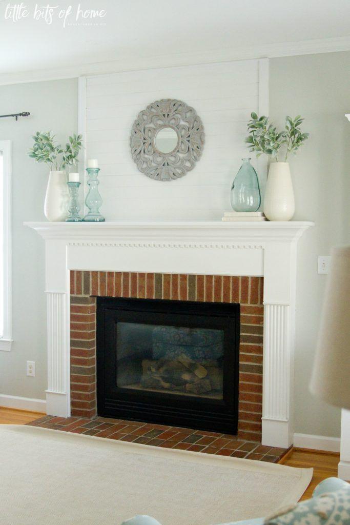 $100 Room Makeover: Fireplace Mantel Inspiration