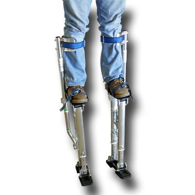 """Aluminum Drywall Stilts 18-30"""", Price $109.95, Plus Shipping, IN STOCK"""
