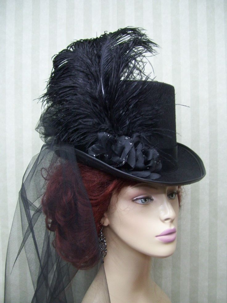 With just a few items you can make an amazing Top Hat that will go great with quite a few different costumes:)
