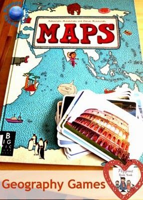 Teaching Geography Through Games by @Natalie Jost Planet Smarty Pants #maps #globalcitizens. Looks a great teaching tool, reminds me of Montessori approach