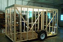 Fish House Ice Shanty Trailer Frames Kits Do-it-yourself