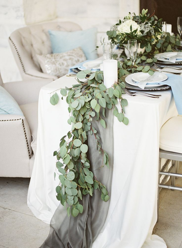 Eucalyptus Garland   photography by http://www.alicialaceyphotography.com/