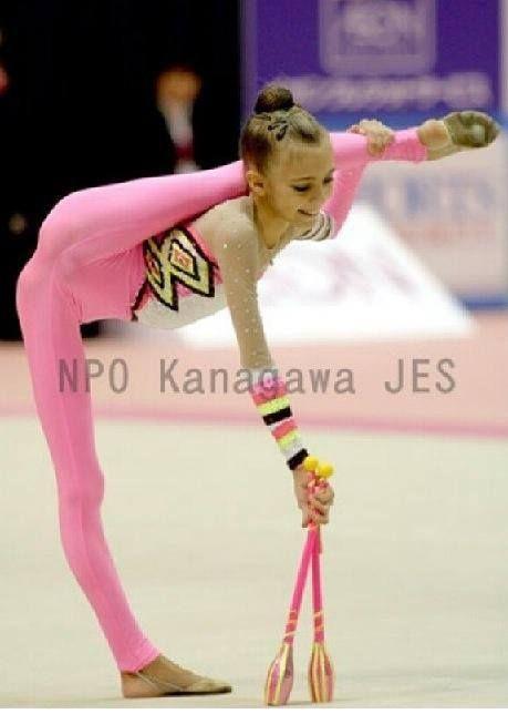 Sasha Popovkina from Russia