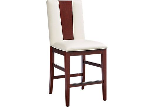 picture of Sofia Vergara Savona Wood Back Counter Height Stool  from Barstools Furniture