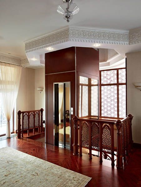 Arabic Decor Motifs in Modern Interior Design, Luxurious Penthouse in Moscow