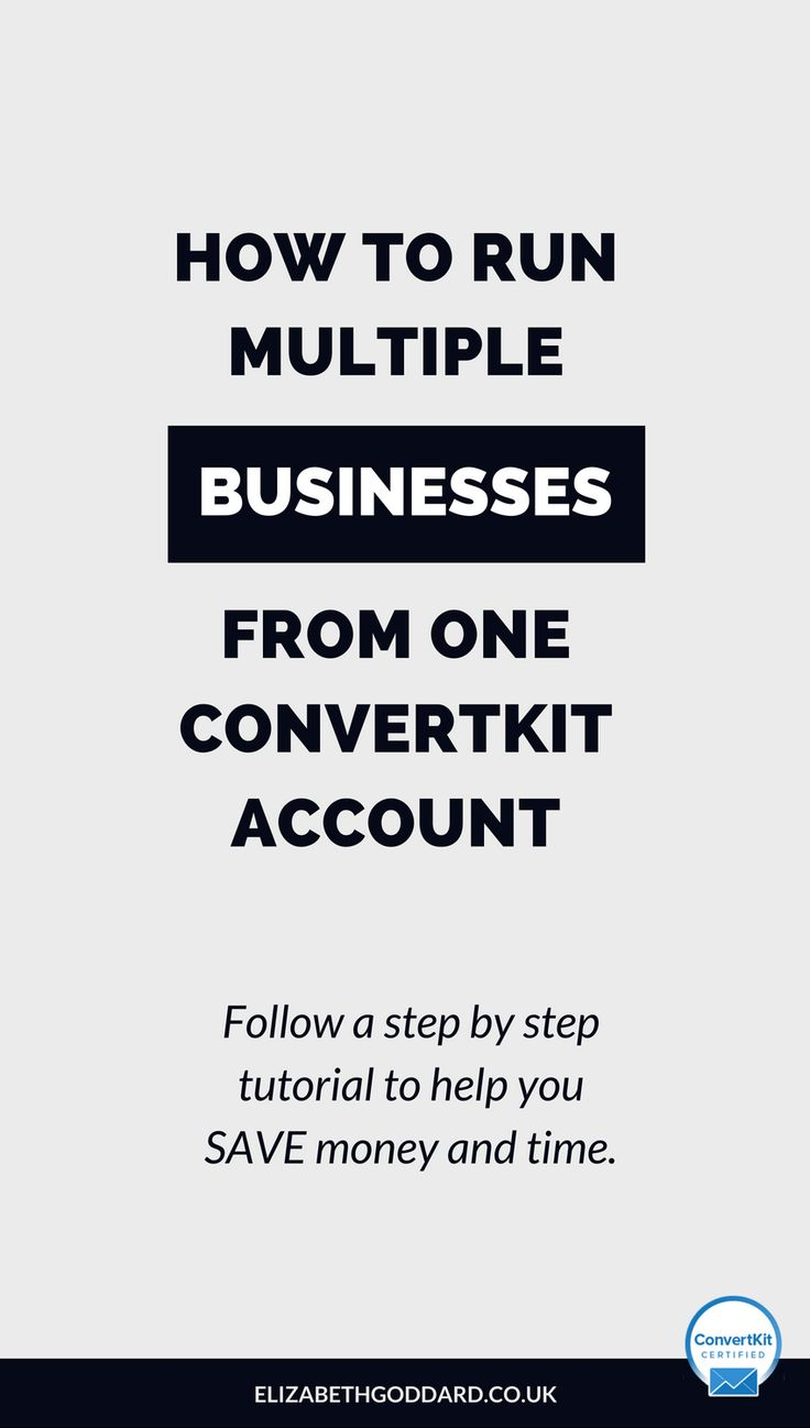 Read how to run multiple businesses from just one ConvertKit account to save time and save money. This CovertKit tutorial will cover how to use ConvertKit settings, custom email templates, email automation rules, email trigger, email segmenting, email broadcasts, email sequence settings and email form settings. ConvertKit is the ideal email marketing platform for small business, service based business, online business, online course creation, coaching business, virtual assistants.