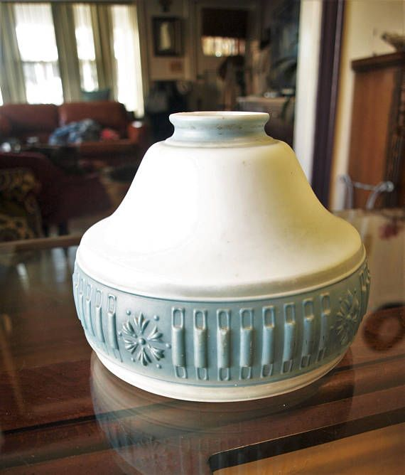 Antique Victorian Milk Glass Ceiling / Pendant Light Lamp