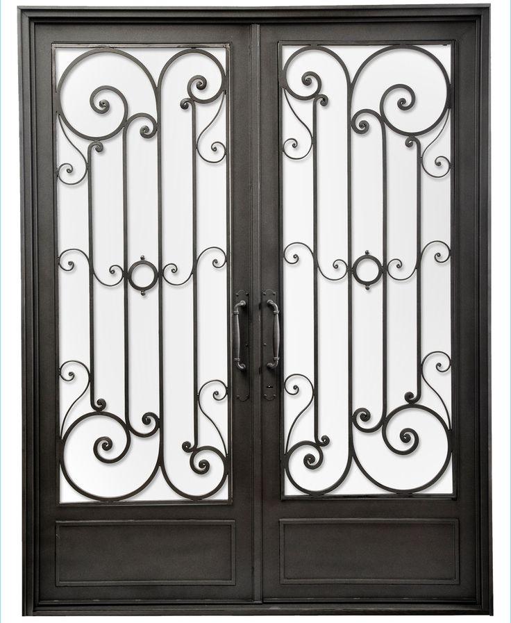 Puerta de entrada de hierro del hierro design le for Piscina puerta del hierro