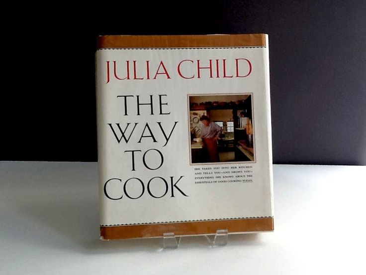 Vintage Julia Child Cookbook, The Way to Cook, Hardback, 1989, Alfred A Knopf, ISBN 0-394-53264-3 by GentlyKept on Etsy