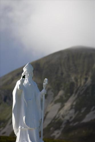 St. Patrick's statue at Croagh Patrick in Co. Mayo