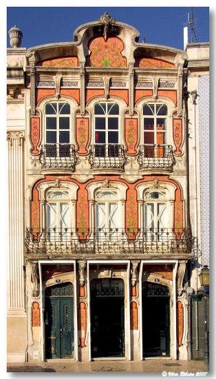 Edifícios Arte Nova.Portugal