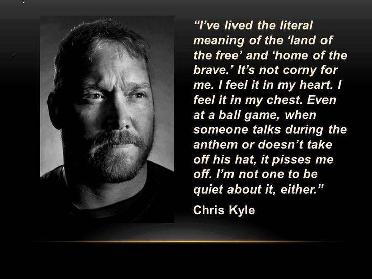 Chris Kyle...