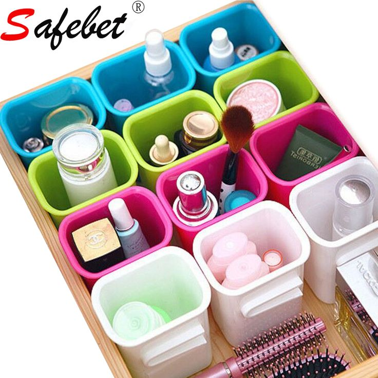 Desktop Storage Box Drawer Slots Organizer Plastic Kitchen Underwear Cosmetic Makeup Lipstick Toothbrush Acrylic Container -in Storage Boxes & Bins from Home & Garden on Aliexpress.com | Alibaba Group