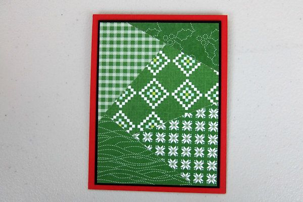 Splitcoaststampers - Stack and Cut Quilt Cards
