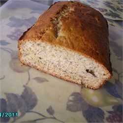 Almost No Fat Banana Bread