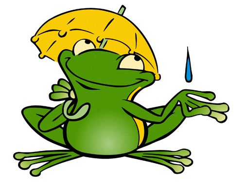Cartoon frog - photo#54