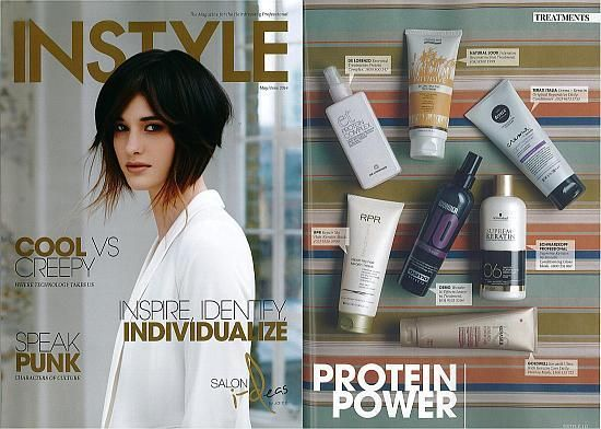 RPR Repair MY Hair Keratin Mask featured in INSTYLE Magazine June/July 2014