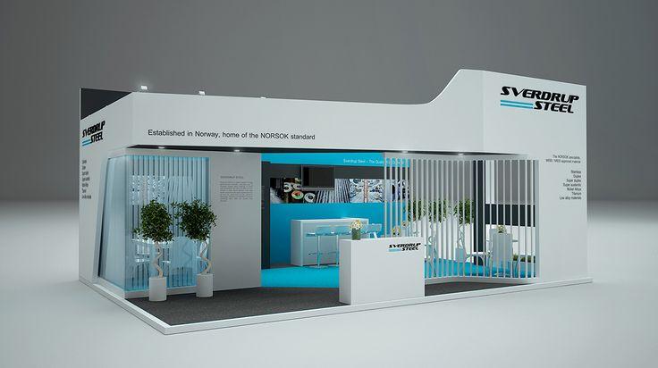 SVERDRUP STEEL Exhibition Stand Norway On Behance
