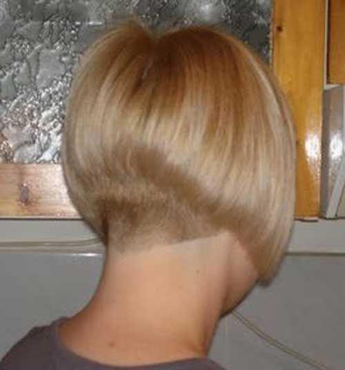 15 Coole rasierte Nacken Bob Haarschnitte –  – #Kurzhaarfrisuren