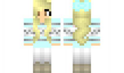 minecraft skin winter-girl-remake | Minecraft, Minecraft ...